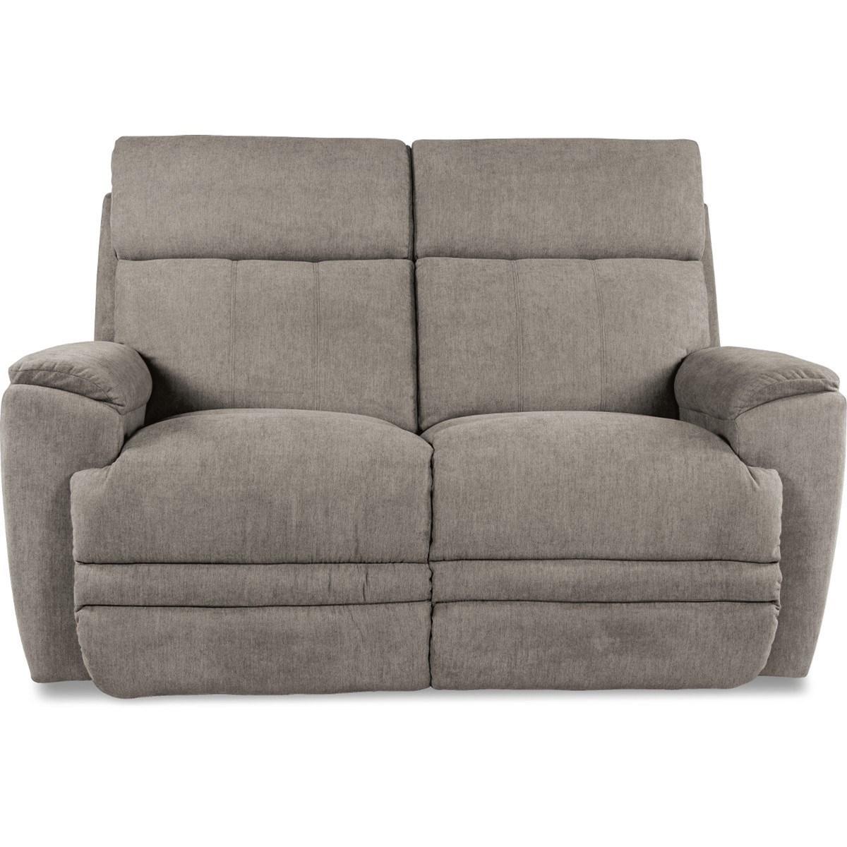 Talladega PowerRecline Loveseat w/ Pwr Headrests by La-Z-Boy at HomeWorld Furniture