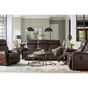 La-Z-Boy Talladega Casual Reclining Loveseat with Cupholder Storage Console