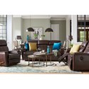 La-Z-Boy Talladega Casual Reclining Loveseat with Cupholder Storage Console - Pillows available with upcharge