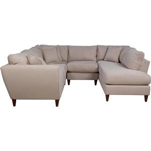 La-Z-Boy Tribeca 4 Pc Sectional Sofa with LAS Chaise