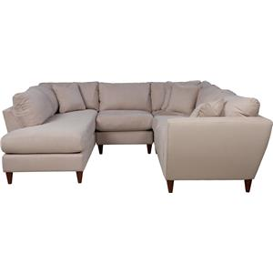 La-Z-Boy Tribeca 4 Pc Sectional Sofa with RAS Chaise
