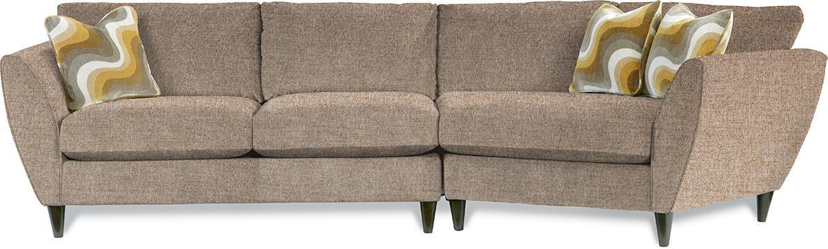 2 Pc Sectional Sofa With Las Cuddler