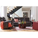 La-Z-Boy Tripoli Power-Recline-XRw™+ Wall Saver Reclining Sofa with Power Tilt Headrest and Lumbar