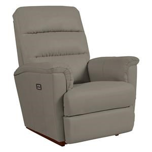 La-Z-Boy Tripoli Smoke Leather PowerReclineXR® Reclina-Rocker