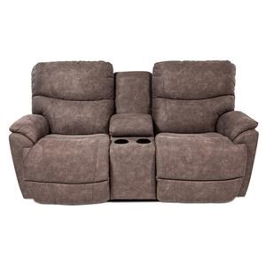 La-Z-Boy Luke  La-Z-Time Reclining Loveseat w/Console