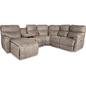 5 Pc Pwr Reclining Sofa w/ RAS Chaise