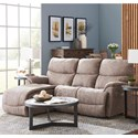 La-Z-Boy Trouper 2 Pc Reclining Sectional Sofa w/ RAS Chaise - Item Number: 4VV724+40DE153765