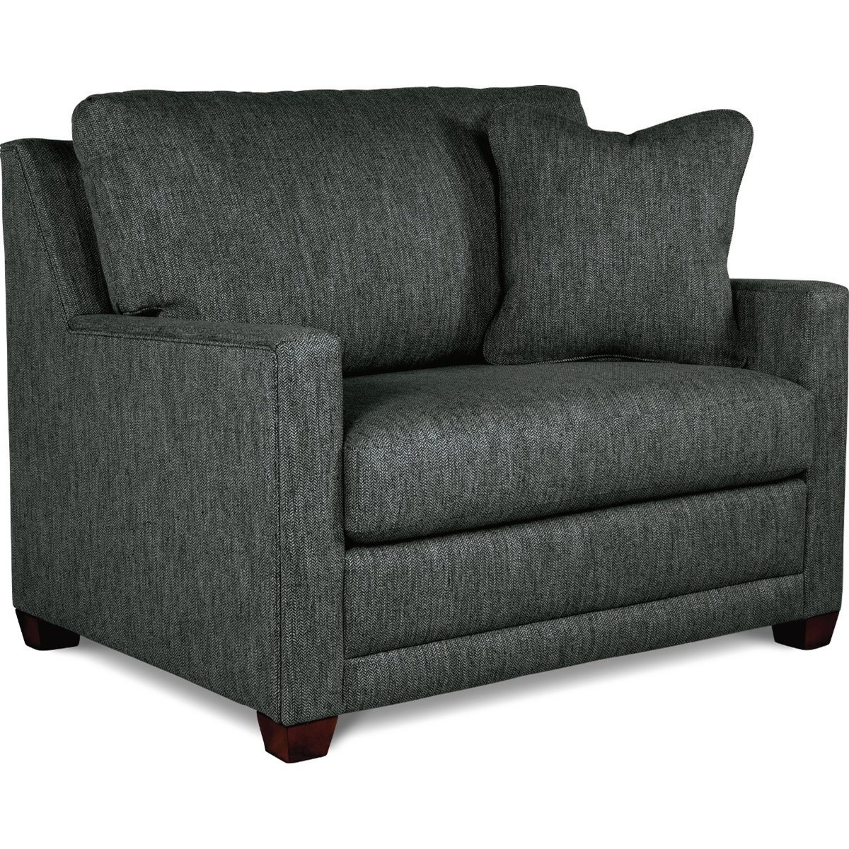 Modern Twin Sleeper Sofa: La-Z-Boy Twilight Contemporary Twin Sofa Sleeper