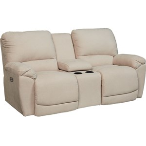 La-Z-Boy Tyler La-Z-Time® Full Reclining Loveseat w/Console