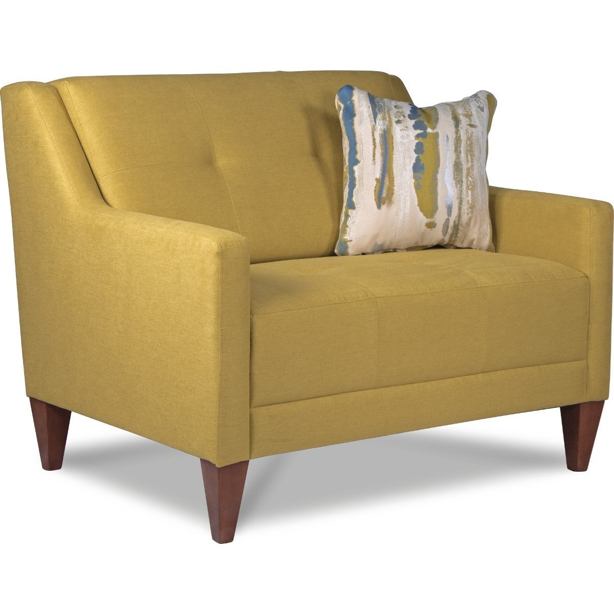 La-Z-Boy Verve Mid-Century Modern Chair-and-a-Half With