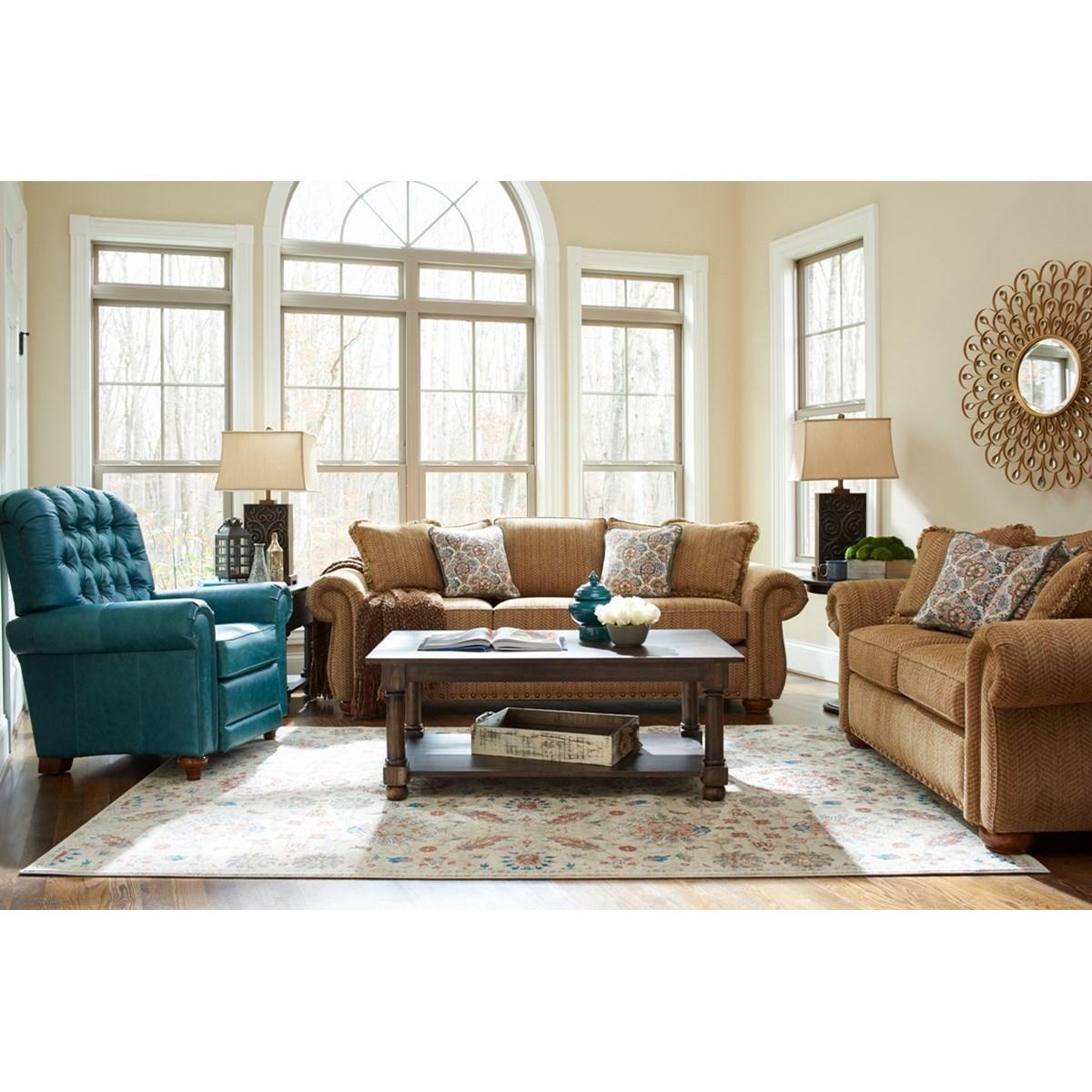 La z boy wales living room group zak 39 s fine furniture for La z boy living room set