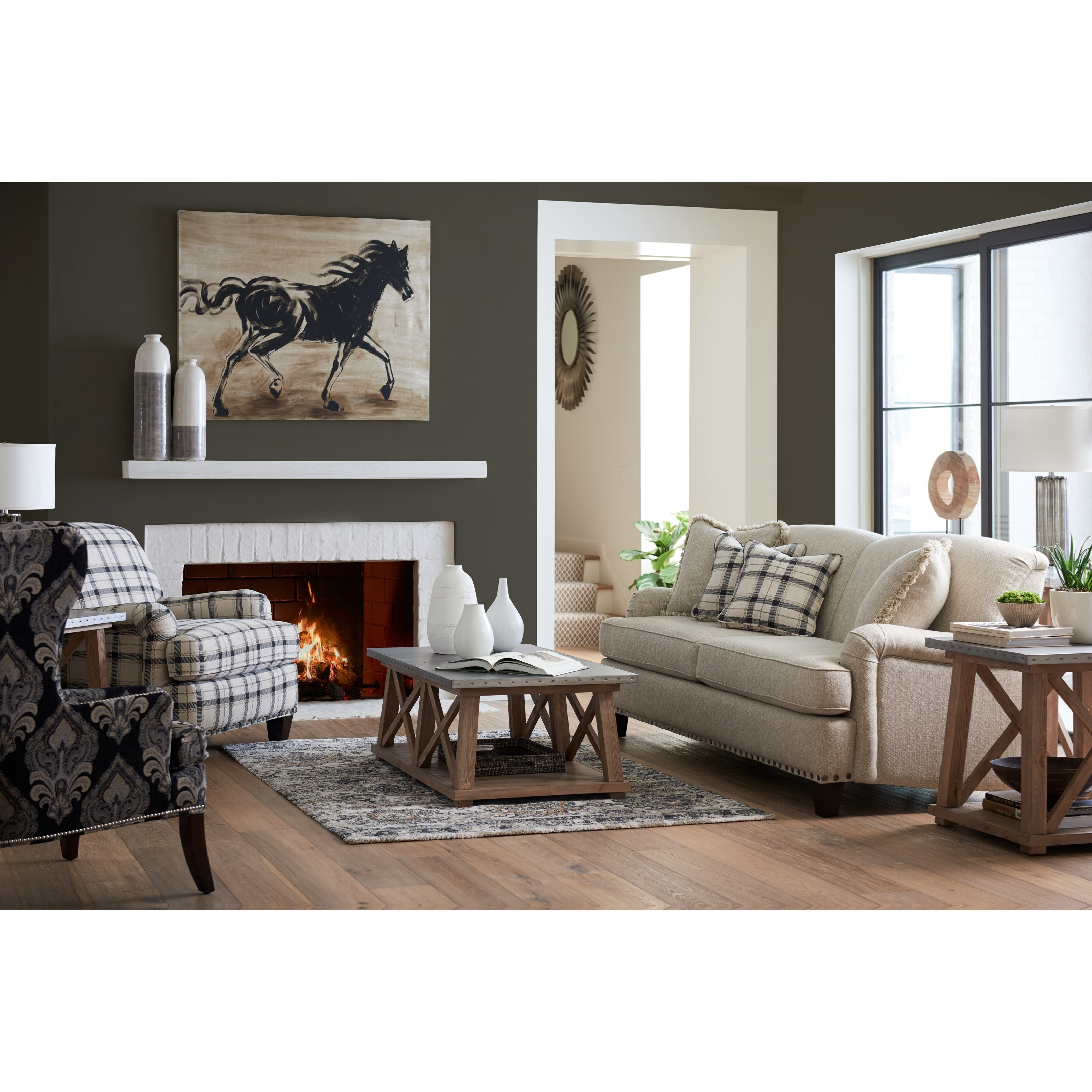 Living Room Furniture North York: La-Z-Boy York Traditional Sofa With Premier ComfortCore