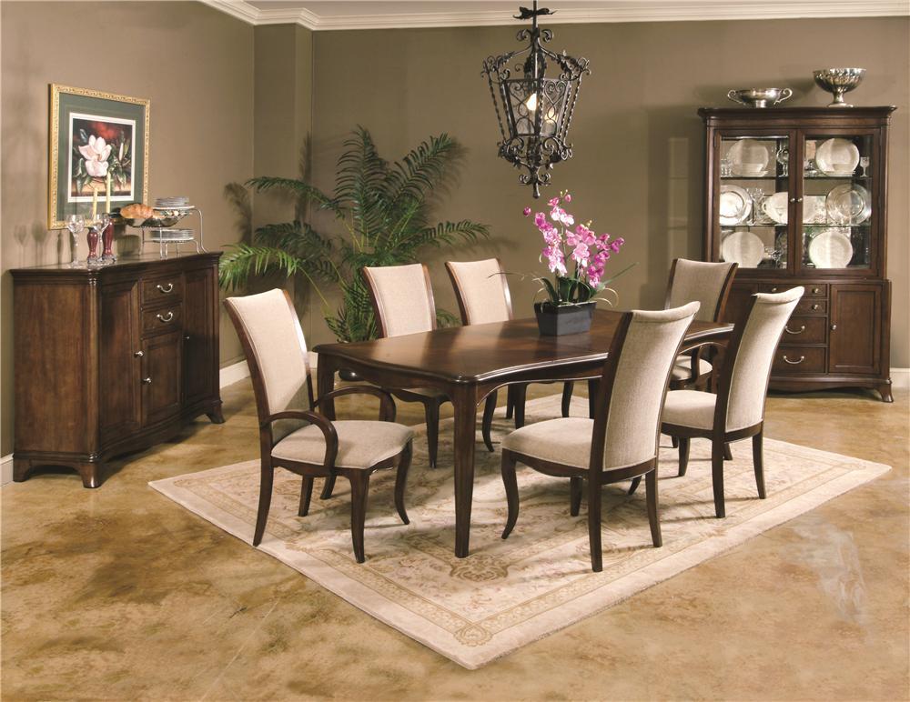Morris Home Furnishings South Hampton South Hampton Dining Set - Item Number: 837-396/305(4)