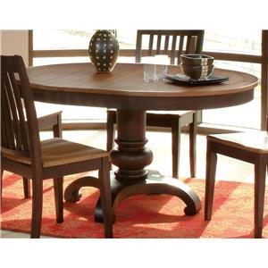 Morris Home Furnishings Grafton Grafton Dining Table Top & Base
