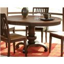 Morris Home Furnishings Grafton Grafton Dining Table Top & Base - Item Number: 130-456T/B