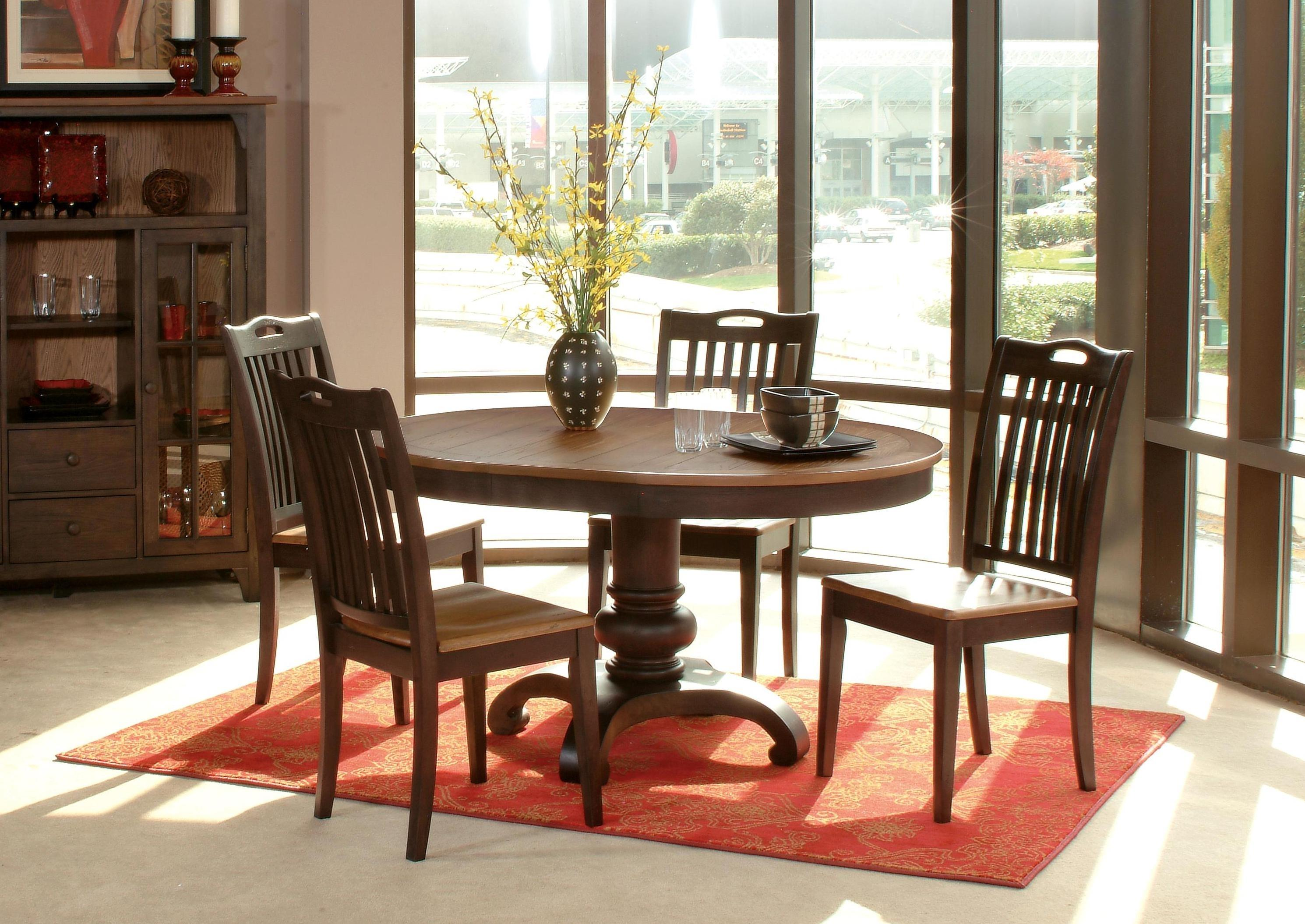 Morris Home Furnishings Grafton Grafton 5 Piece Dining Set   Item Number:  130 456T