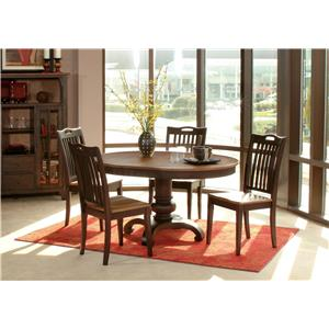 Morris Home Furnishings Grafton Grafton 5 Piece Dining Set
