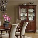 Lacquer Craft USA South Hampton China Cabinet - Item Number: 837-360B+360T
