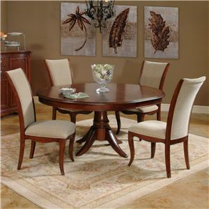 Morris Home Furnishings South Hampton South Hampton 5 Piece Dining Set