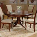 Morris Home Furnishings South Hampton South Hampton Dining Table Top & Base - Item Number: 837-366B+366T