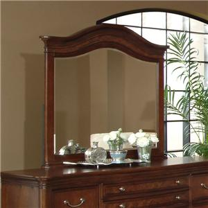 Lacquer Craft USA Avalon Elegant Arched Mirror