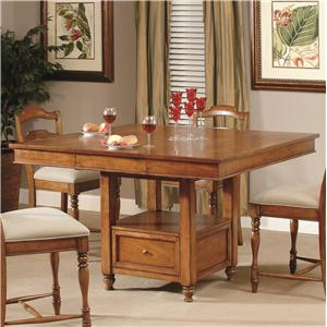 Lacquer Craft USA Harvest  Counter Height Table