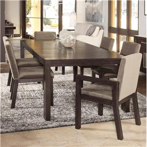 Morris Home Furnishings Metropolis 7 Piece Dining Table