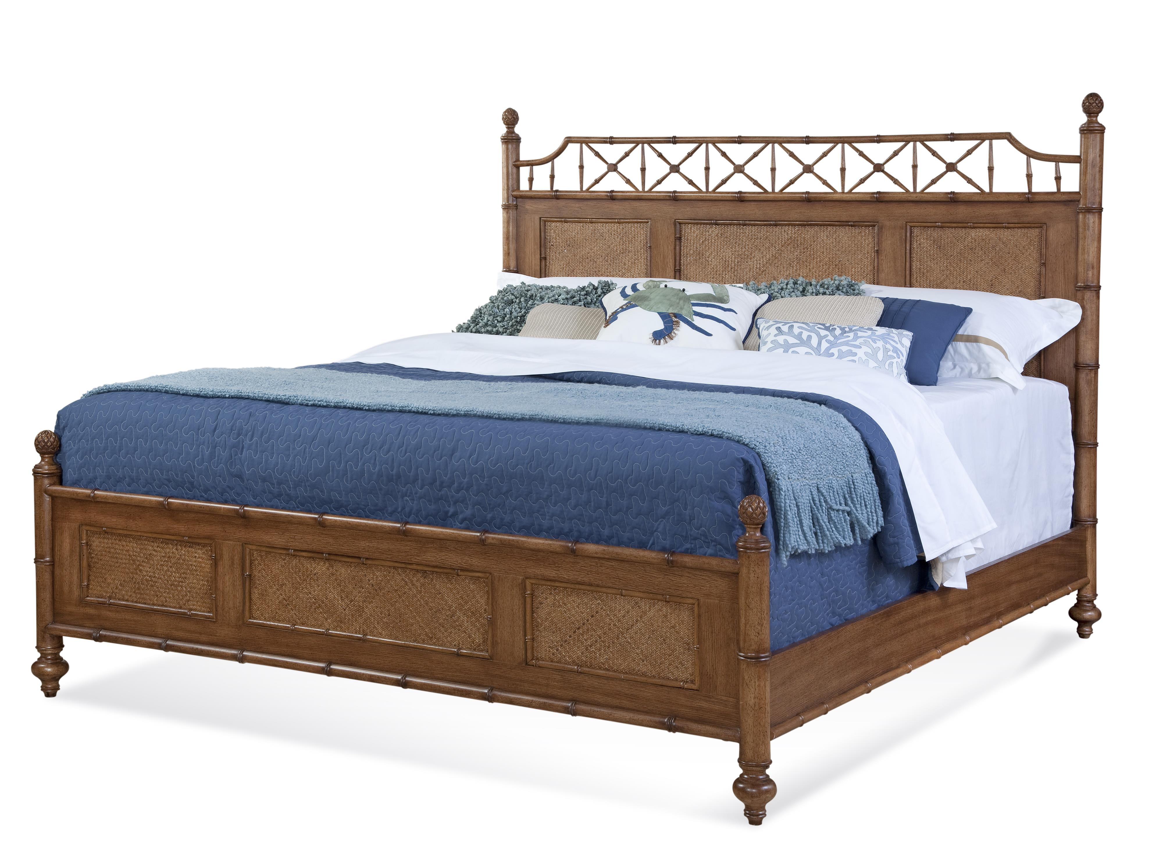Lacquer Craft USA Paradise Bay King Bed - Item Number: 9005-155 PARADISE BAY