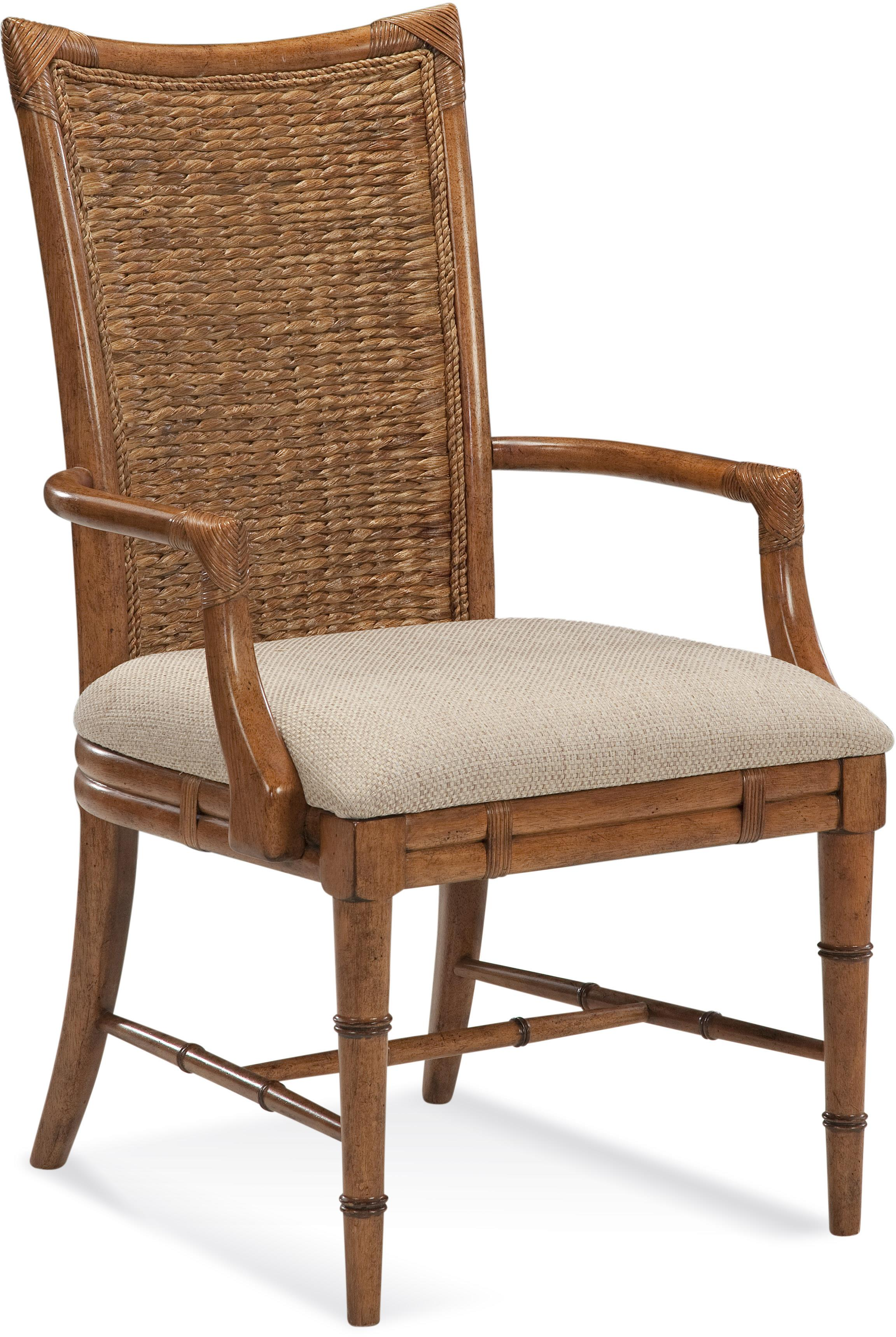 Lacquer Craft USA Paradise Bay Arm Chair - Item Number: 9005-301KD PARADISE CHAIR