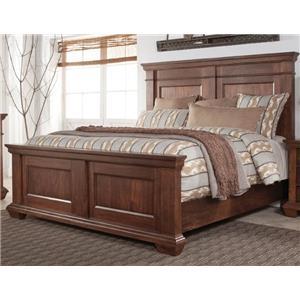 Morris Home Furnishings Windsor Windsor Queen Panel Bed