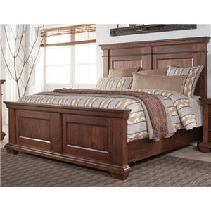 Morris Home Furnishings Windsor Windsor King Panel Bed