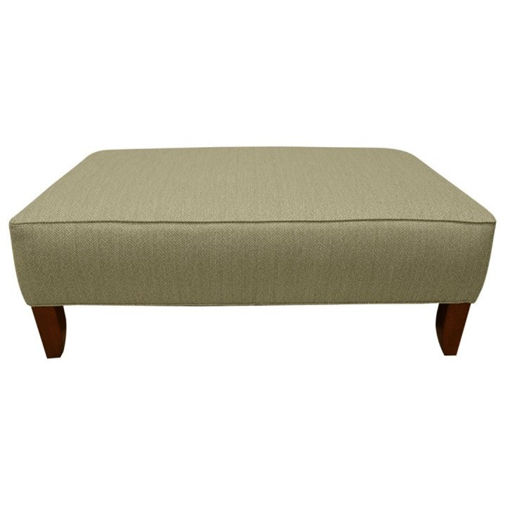 LaCrosse 12510A Cocktail Ottoman - Item Number: 125-10-4226-08