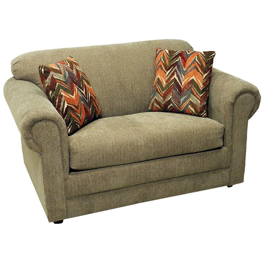 LaCrosse Hayden Twin Sofa Sleeper - Item Number: 991307A-TahoeGarnet