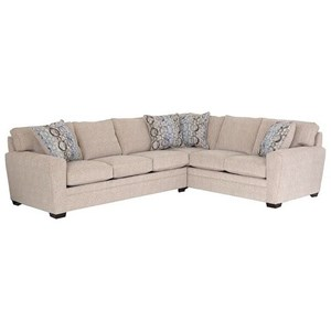 LaCrosse Manhattan Sectional Sleeper Sofa