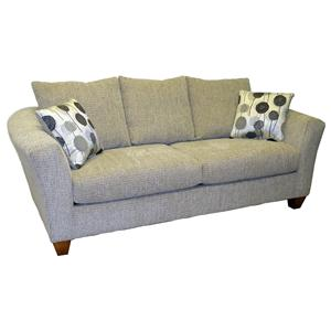 "LaCrosse Sleeper Sofas  Queen Size Sofa Sleeper with 7"" Mattress"
