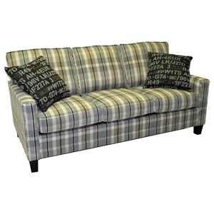 "LaCrosse Sleeper Sofas  Queen Size Sleeper Sofa with 7"" Mattress"