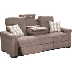 Lambor Furnishings L470 Power Reclining Sofa W Headrests And Usb Ports Darvin Furniture Sofas