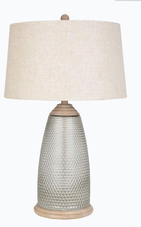 LPS-245 GLASS TABLE LAMP