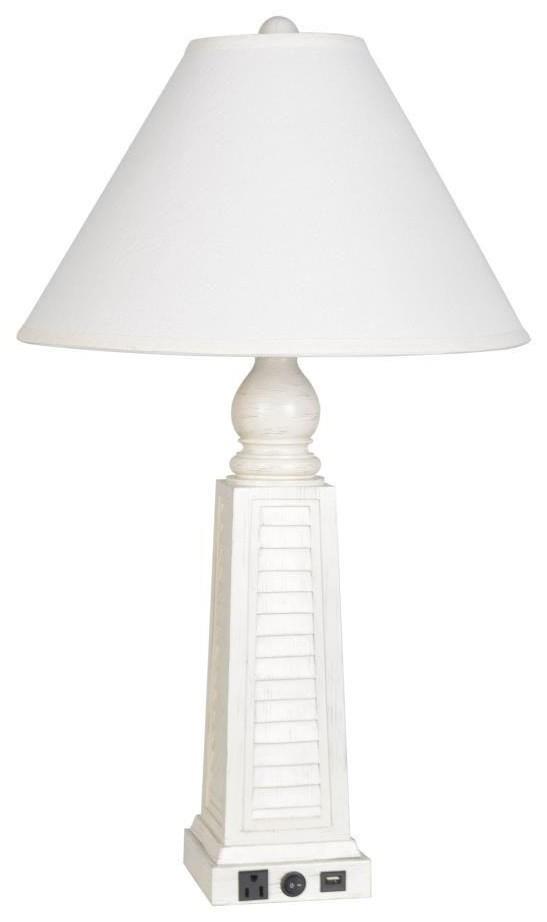 LPS-247 White Shutter Lamp