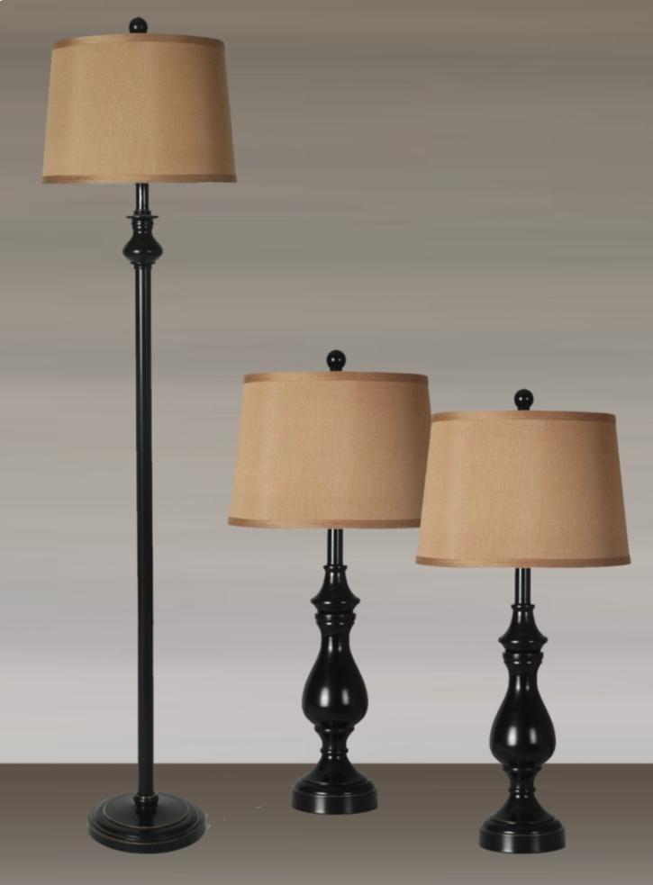 Lamps Per Se 2018 Collection LPS-622 3 PC Lamp Set - Item Number: 622