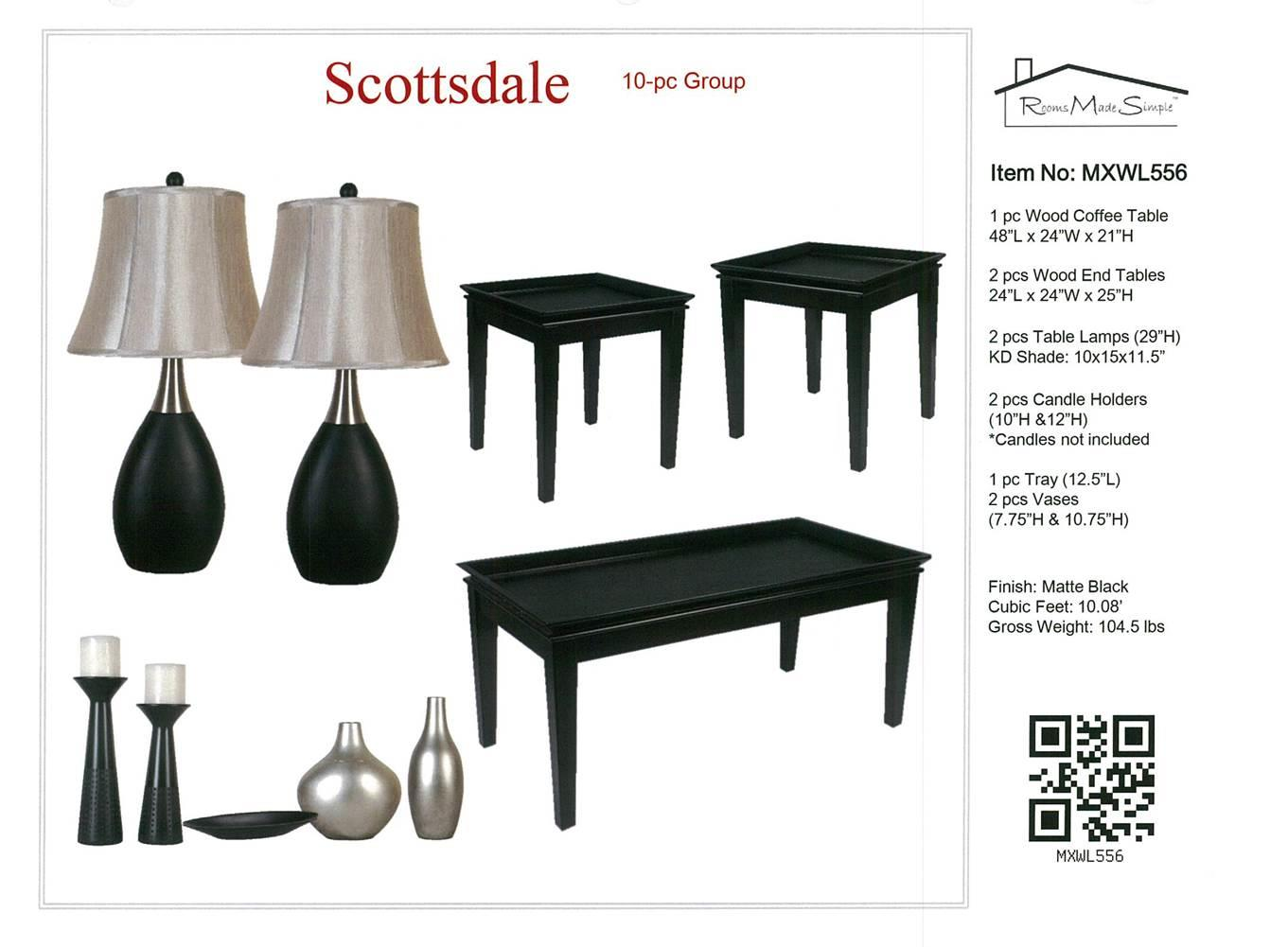 MXW Accessory Packages Accessory Packages by Lamps Per Se at Furniture Fair - North Carolina