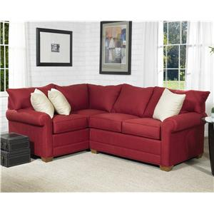 Lancer 110 Loveseat Sectional Group