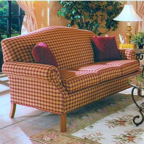 1520 Short Sofa by Lancer at Westrich Furniture & Appliances