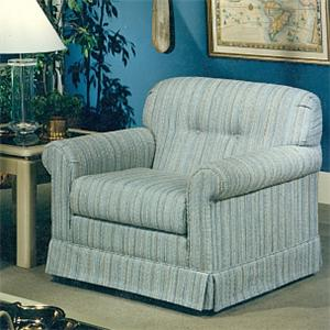 Lancer 2000 Upholstered Chair with Tufted Seat Back