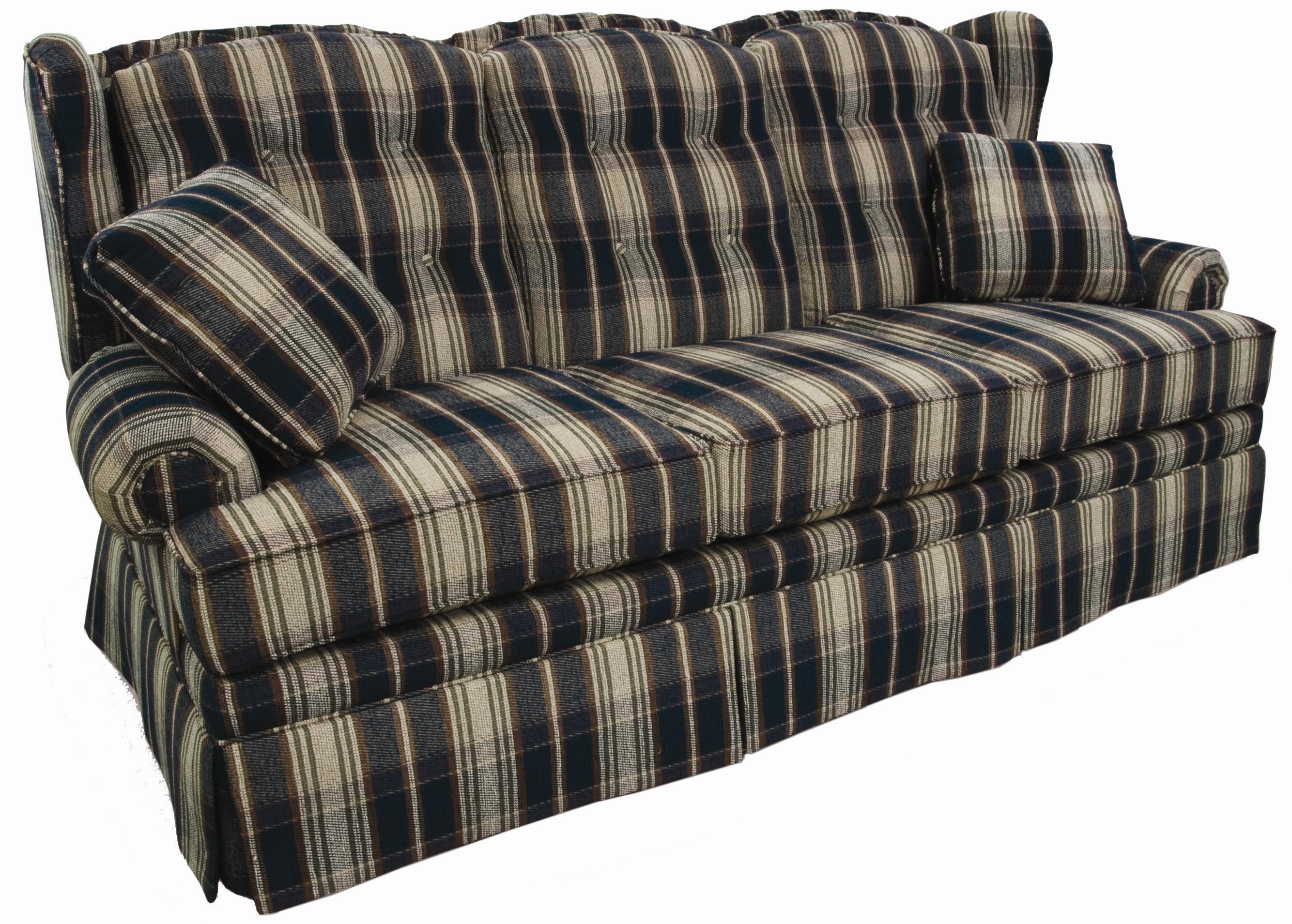 Lancer 9700 Wing Back Camel Sofa Wayside Furniture