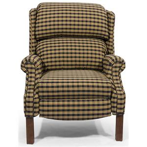 Lancer HomeSpun High Leg Recliner