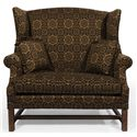 Lancer HomeSpun Chair and a Half - Item Number: 1336-Old Salem Ebony