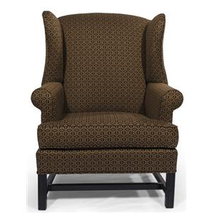 Lancer HomeSpun Wing Back Chair