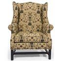 Lancer HomeSpun Upholstered Chair - Item Number: 1415-Savannah Ecru Black