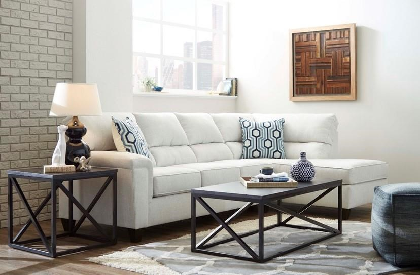 2015 Sectional with Bump Chaise by Lane at Furniture Fair - North Carolina